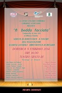 09.02.2014 ore 18 Teatro Antoniano di Cristo Re