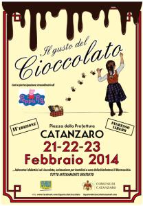 """Catanzaro. """"Il Gusto del Cioccolato"""", seconda edizione 21-22-23 Febbraio 2014"""