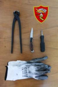 Messina: Carabinieri arrestano due persone per tentato furto.