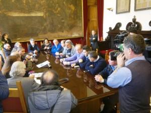 Conferenza stampa di Accorinti