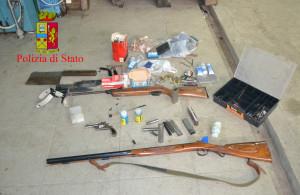 Gioia Tauro (Rc): scoperto in un maneggio di cavalli  un sofisticato e clandestino laboratorio per la fabbricazione e riparazione di armi.