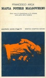 copertina MAFIA POTERE MALGOVERNO 1979 arcà