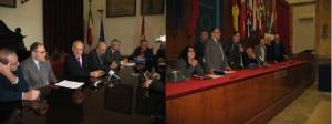 Stabilizzazione ed integrazione oraria dei lavoratori precari. Conclusa la conferenza stampa.