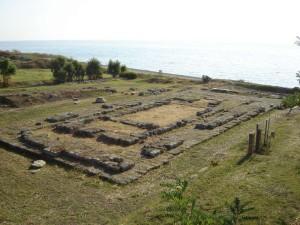 Calabria. Regione sulle emergenze archeologiche di Sibari e Kaulon