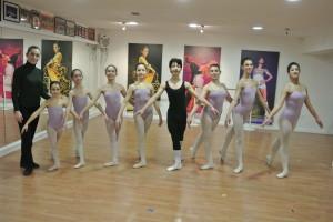 """Crosia. Otto allievi dell'Accademia """"New Eurodance"""" all' """"Internazionale Esami di danza classica 2014"""""""