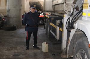 Partinico (Pa): Rubano del gasolio all'interno dell'autoparco Comunale. Due giovani arrestati dai Carabinieri.