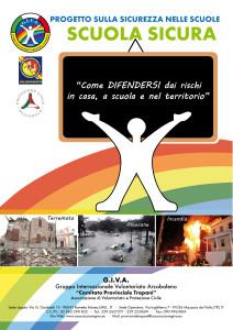 """Mazara del Vallo. Giva: concluso il progetto denominato – Scuola Sicura – """"Come difendersi dai rischi a casa a scuola e nel territorio"""""""
