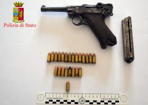 Pistola e munizioni MORFEA