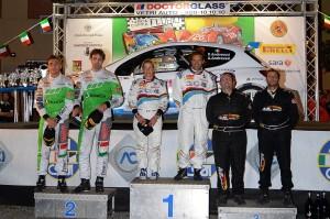 Rally Targa Florio podio