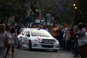 Alessandro Perico, Fabrizio Carrara (Peugeot 207 S2000 #9, PA Racing)
