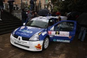 Renault Clio del Team Armaleo (Foto Antonio De Felice)