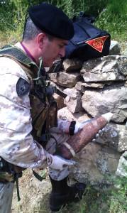 13_05_14 bomba d aereo 88mm inglese Regalbuto Enna (2)