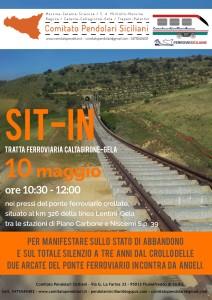 """Sollecito """"Ripristino tratta ferroviaria Caltagirone-Gela"""" a tre anni dal crollo del ponte ferroviario"""