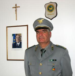 Nuovo Comandante al Distaccamento Forestale di Galati Mamertino.