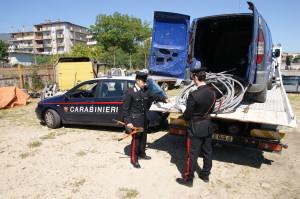 Petilia policastro. Furto di rame : i Carabinieri arrestano in flagranza un crotonese