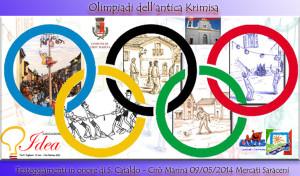 Cirò Marina (KR) – Mercati Saraceni 8-9 Maggio 2014. Olimpiadi dell'Antica Krimisa