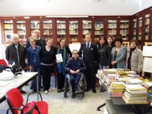 """Inaugurata alla biblioteca Maurolico la mostra storica, artistica e archeologica """"Abakàinon""""."""