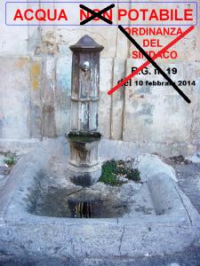 Torna potabile l'acqua a Guardavalle Centro (Cz). Il Sindaco Giuseppe Ussia revoca l'Ordinanza di non potabilità del 10 febbraio 2014.