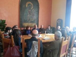 Il Sindaco accorinti e la Giunta hanno ricevuto l'Assessore Regionale Giusi Furnari, i deputati Regionali Picciolo e Greco ed il Gruppo Consiliare dei democratici Riformisti.