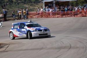 Marco POllara Pollicino in azione al Rally Terre di Bacco