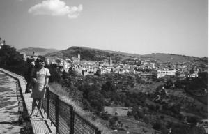 foto ricordo dal belvedere Ripa di Agnone1971