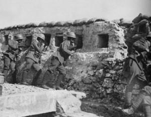 trincea sul Carso - prima guerra mondiale