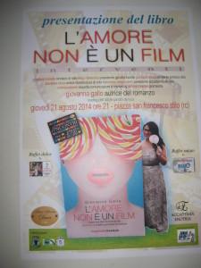 """Stilo (Rc). La scrittrice Giovanna Gallo presenterà il suo libro """"L'amore non è un film"""""""