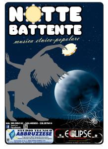 8 NOTTE BATTENTE manifesto 70x100