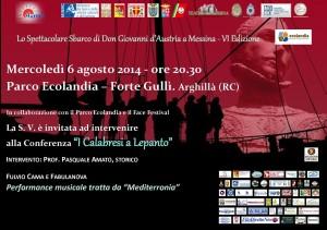 Manifesto - I Calabresi a Lepanto