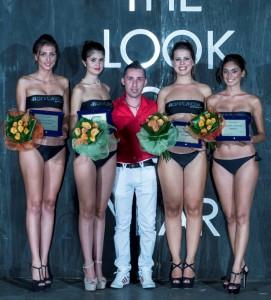 Pietro Maggio con finaliste