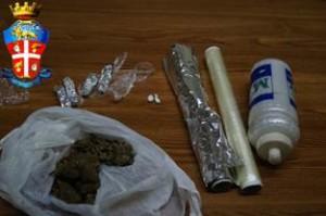 droga sequestrata dai CC di Taormina