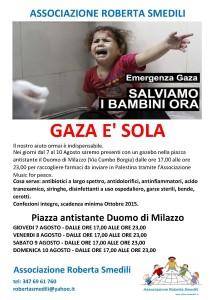 emergenza Gaza