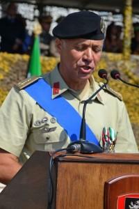 il Tenente colonnello Biagio Marseglia
