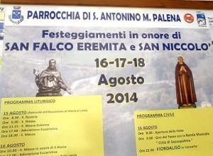 manifesto festa san falco palena agosto 2014