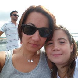 Anna Cacciavillani e la figlia Camilla