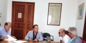 Conferenza stampa Sindaco Pino ed Assessore Midili