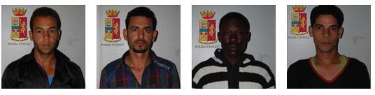 Reggio Calabria. La Polizia di Stato arresta quattro scafisti responsabili dello sbarco del 24 settembre.