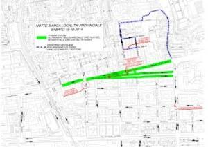 Messina. Domani limitazioni viarie a Provinciale per la Notte Bianca