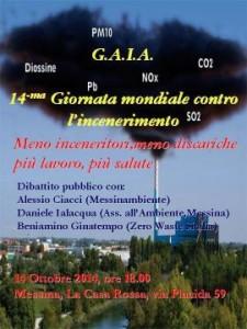 Domani dibattito pubblico a Messina contro l'incenerimento dei rifiuti