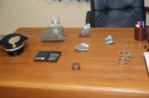 Melito Porto Salvo (Rc): 1 arresto per produzione, traffico e detenzione illecita di sostanze stupefacenti