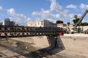 Ponte Bailey a Palermo: le attività si concluderanno domani con la consegna del cantiere all'Amat Palermo S.p.a.