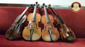 Palermo. I Carabinieri del Nucleo Tutela Patrimonio Culturale restituiscono al Conservatorio di Musica quattro violini trafugati.