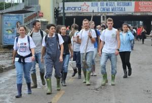 Genova ott. 2014 angeli del fango