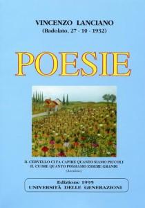 copertina primo libro POESIE Vincenzo Lanciano 1995