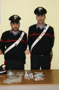 Soveria Mannelli (Cz) – Giovane arrestato dai Carabinieri ad un posto di controllo per detenzione di marijuana ai fini di spaccio.