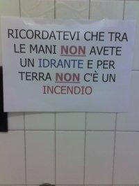cartello bagno pubblico 1