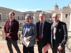 I Art, da sx Lucio Tambuzzo, Enzo Bianco, Orazio Licandro, Giovanni Anfuso