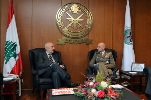 Unifil: Il Generale Portolano incontra il ministro della difesa libanese.