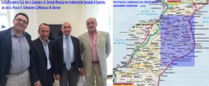 Cisal incontra DG Asp Cz per ospedale Soverato - cartina territorio interessato --Foto & cartina