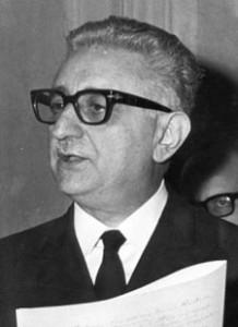 Giovanni Leone ex presidente repubblica
